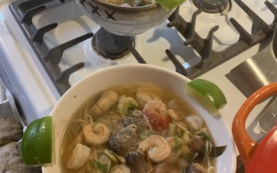Chrissy's Tom Yum 🍜 🍤